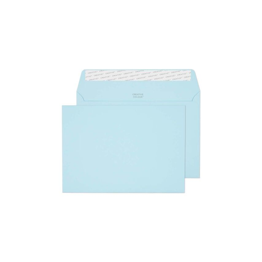 Wallet Peel and Seal Cotton Blue C5 162X229 120GSM - Box of 500