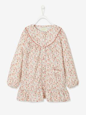 Smock with Flowers for Girls multi